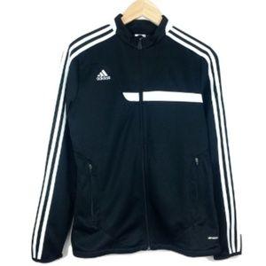 Adidas Black and White Track Climacool Jacket